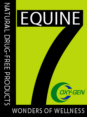 Equine 7 Performance Horse Products from the makers of the Original OxyGen Formula