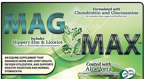 MagMax from OxyGen new formula with Slippery Elm and Licorice