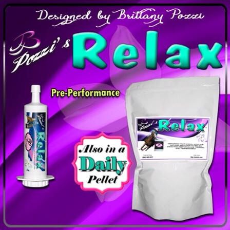 Pozzi's Relax supplement by OxyGen available in performance paste and daily pellet