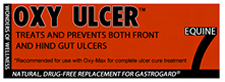 Equine 7 by OxyGen the Oxy Ulcer paste treats fore gut and hind gut equine ulcers